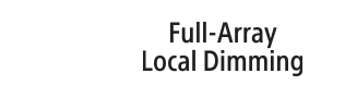 Full Array Local Dimming -logo