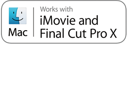iMovie- ja Final Cut Pro X -tuki