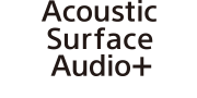 Acoustic Surface Audio+ -logo