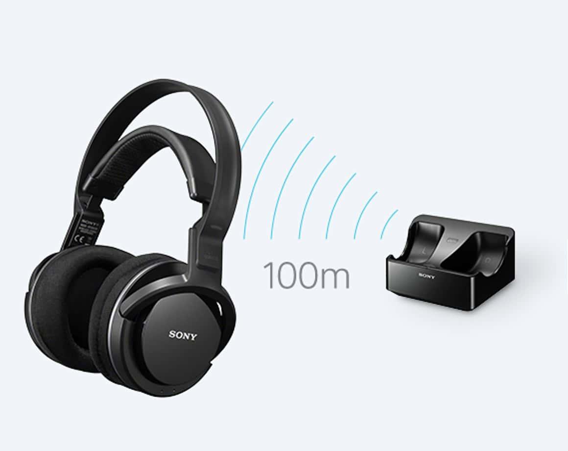 Sony MDR RF 855RK langattomat kuulokkeet |