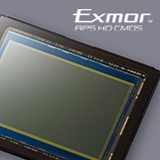 24,3 megapikselin Exmor™ APS HD CMOS -kenno