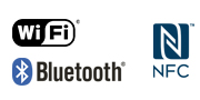 WiFi NFC Bluetooth -logo